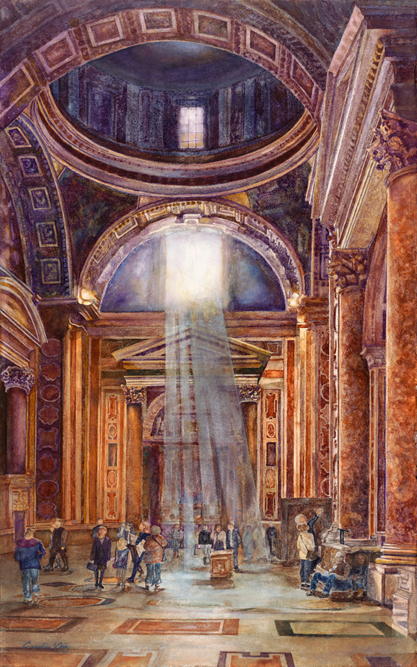 5. Touring St Peters Basilica